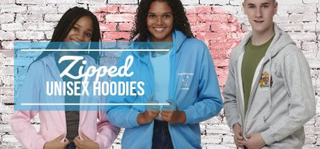 Zipped Hoodies Unisex