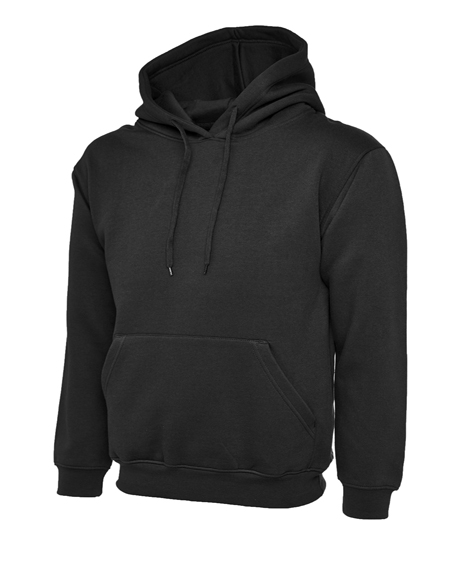 Black Leavers Hoodies