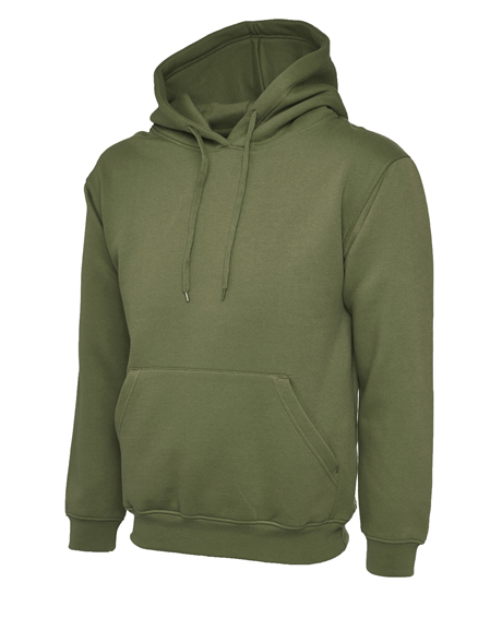 Military Green Leavers Hoodies