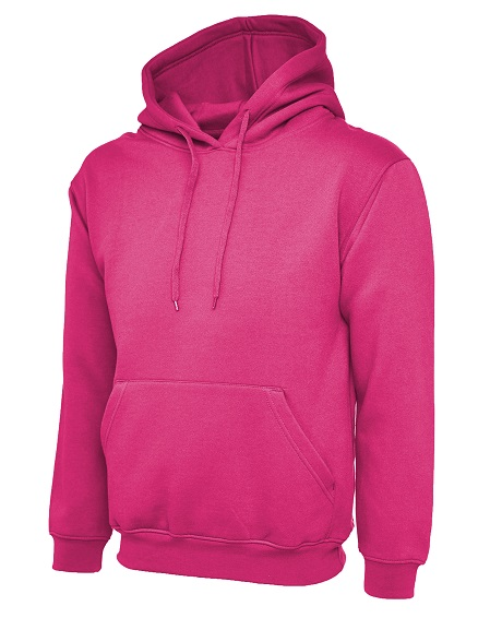 Hot Pink Leavers Hoodies