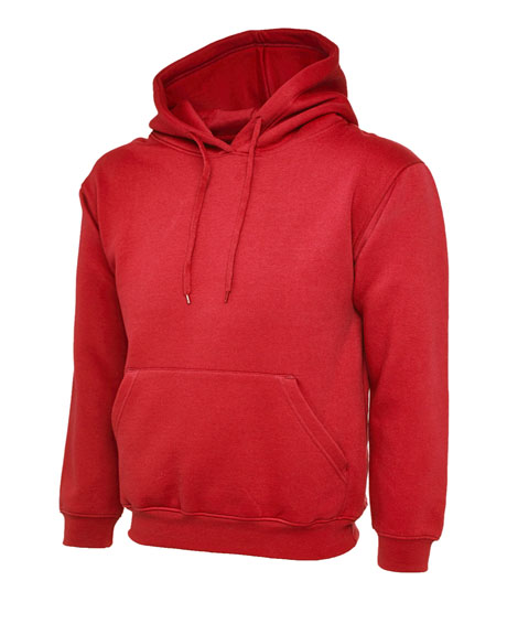 Red Leavers Hoodies
