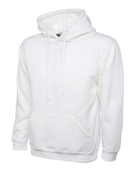 White Leavers Hoodies