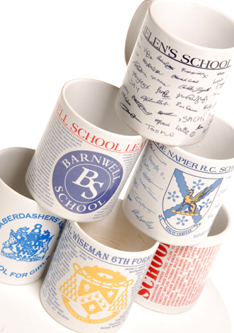 Personalised mug image