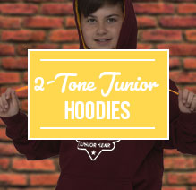 2 Tone Hoodies Junior