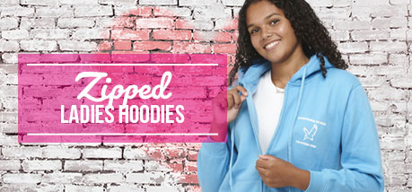 Zipped Hoodies Ladies